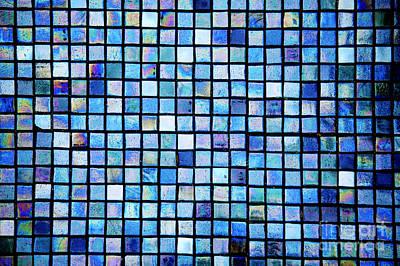 Sea Of Tiles Art Print