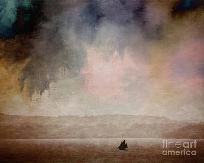 Travelling Art Digital Art - Sea Of Tranquility by Edmund Nagele