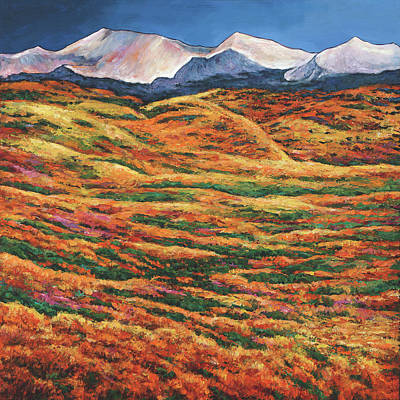 Taos Painting - Sea Of Tranquility by Johnathan Harris
