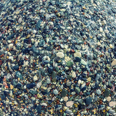 White River Scene Photograph - Sea Pebbles2 by Stelios Kleanthous