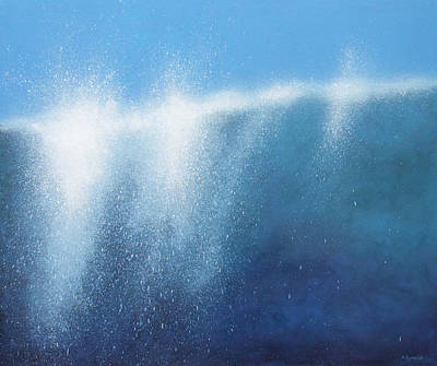 Spray Painting - Sea Picture II by Alan Byrne