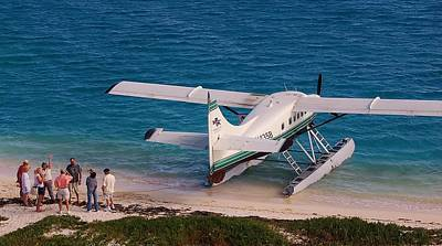 Photograph - Sea Plane by Christopher James