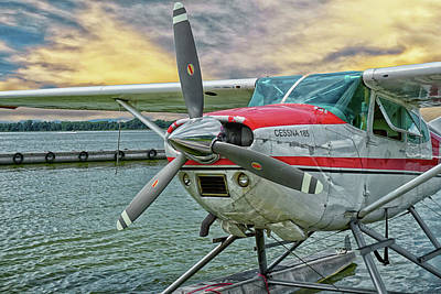 Photograph - Sea Plane by Dennis Dugan