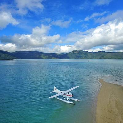 Photograph - Sea Plane In The Whitsundays by Keiran Lusk