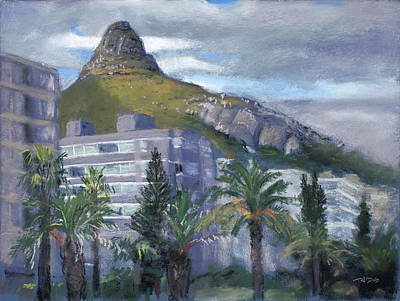 Painting - Sea Point Promenade by Christopher Reid