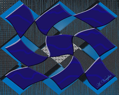 Digital Art - Sea Ripples  by Amanda Vouglas