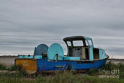 Photograph - Sea River Fishing Boat by David Arment