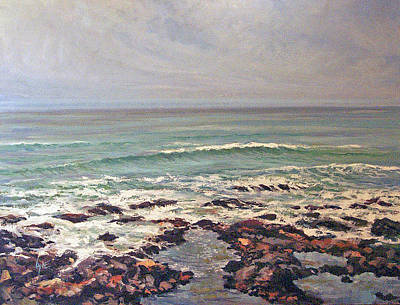 Painting - Sea Rocks by Lynne Haines