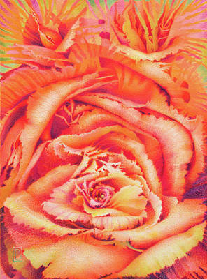 Painting - Sea Rose by Lynn Bywaters