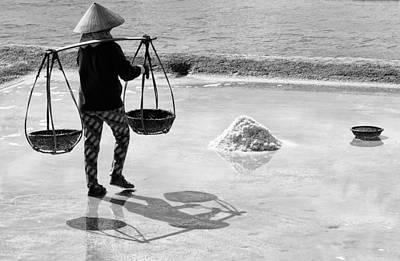 Photograph - Sea Salt by Cameron Wood