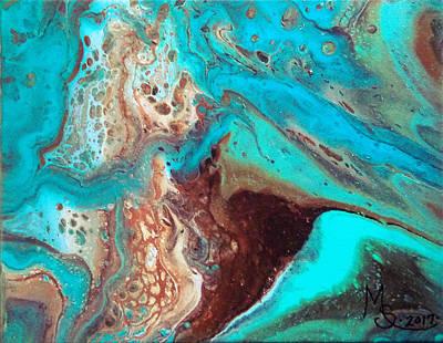 Painting - Sea Sediment by Absinthe Art By Michelle LeAnn Scott