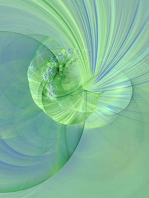 Digital Art - Sea Shell Abstract by Georgiana Romanovna