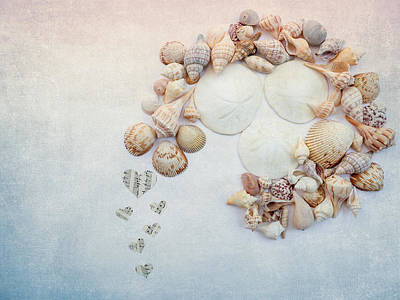 Photograph - Sea Shells 5 by Rebecca Cozart