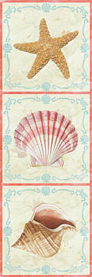 Painting - Sea Shells-d2 by Jean Plout