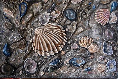 Sea Shore Art Print by Avril Brand