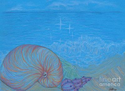 Sea Shore Art Print by Kim Sy Ok