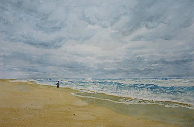 Painting - Sea Shore by Mickey Raina