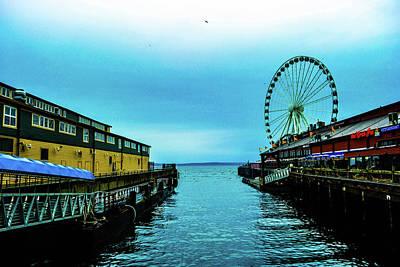 Sea Side, Seattle 2 Art Print