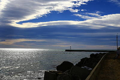 Photograph - Sea Sky Sparkle by Nareeta Martin