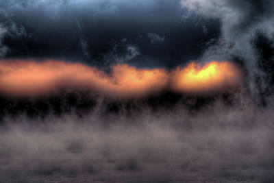 Photograph - Sea Smoke Dawn by Patrick Groleau