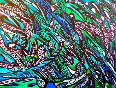 Painting - Sea Spray 1 by Nikki Dalton