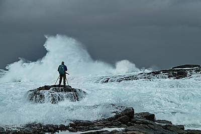 Photograph - Sea Spray by Frank Olsen