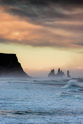 Photograph - Sea Stacks by Allen Biedrzycki