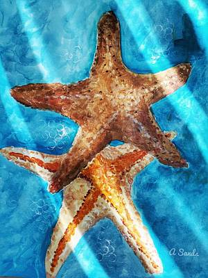 Painting - Sea Stars by Anne Sands