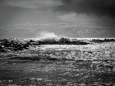 Sea Storm Art Print