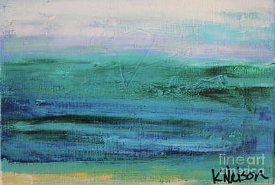 Painting - Sea Storm by Kim Nelson