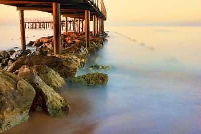 Photograph - Sea Sunrise by Nadia Sanowar