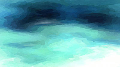 Mixed Media - Sea Swirl by Anthony Fishburne