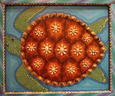 Painting - Sea Turtle by Amanda  Lynne