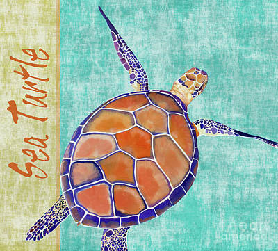 Painting - Sea Turtle by Jody Wright
