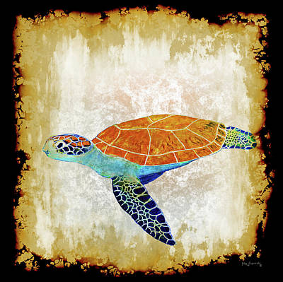 Hawaii Sea Turtle Digital Art - Sea Turtle by Ken Figurski