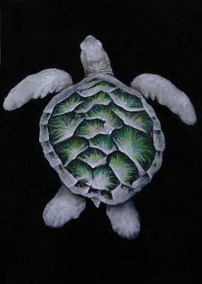 Sea Turtle Left Original