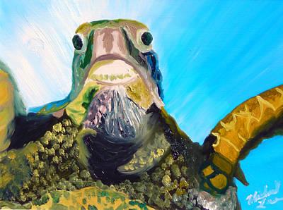 Lego Art - Sea Turtle by Michael Lee