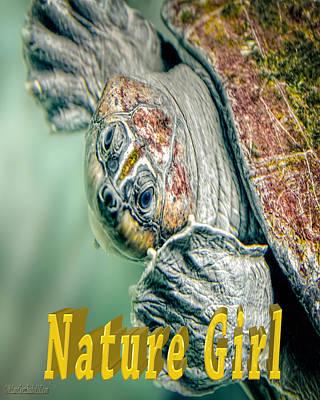 Photograph - Sea Turtle Nature Girl by LeeAnn McLaneGoetz McLaneGoetzStudioLLCcom