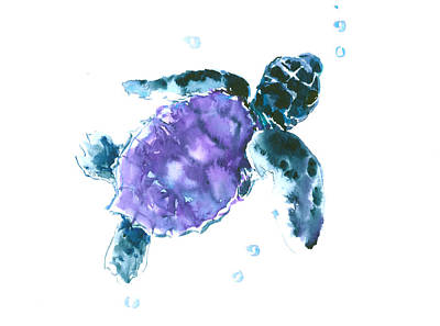 Sea Turtle Nursery Art Art Print