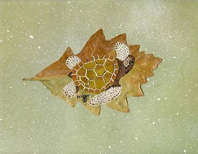 Painting - Sea Turtle by Ralph Root