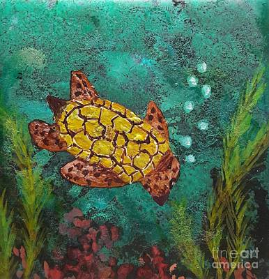 Painting - Sea Turtle by Terri Mills