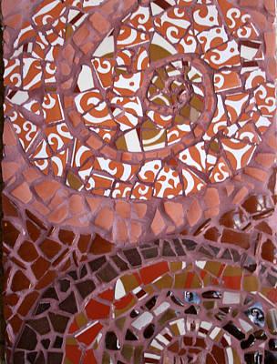 Ceramic Mixed Media - Sea Urchins by Abi Macleod Clark