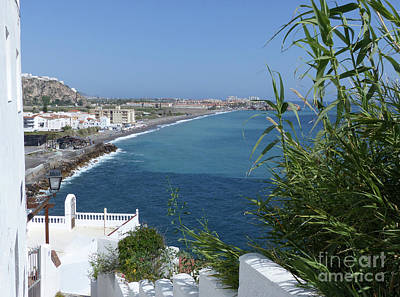 Photograph - Sea View - Caleta by Phil Banks