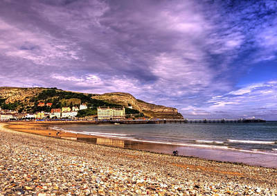 Hill Town Photograph - Sea View Town by Svetlana Sewell