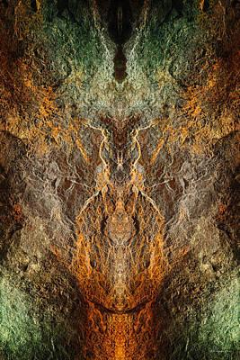 Digital Art - Sea Wall 1 by WB Johnston