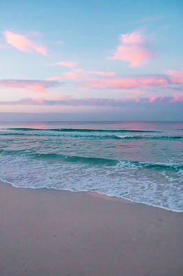 Photograph - Sea Water At Sunrise by Shelby  Young