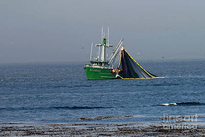 Photograph - Purse Seiner  Sea Wave Corp Salinas Ca   2009 by California Views Archives Mr Pat Hathaway Archives