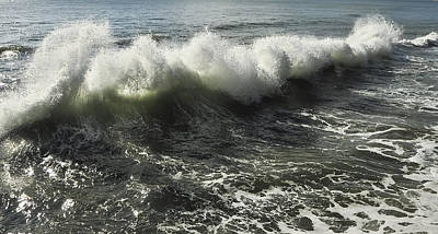 Sea Waves1 Art Print by Svetlana Sewell