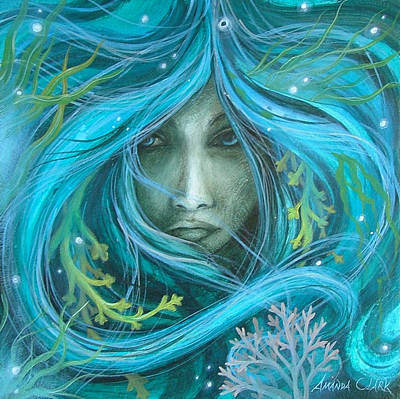 Sea Witch Art Print by Amanda Clark