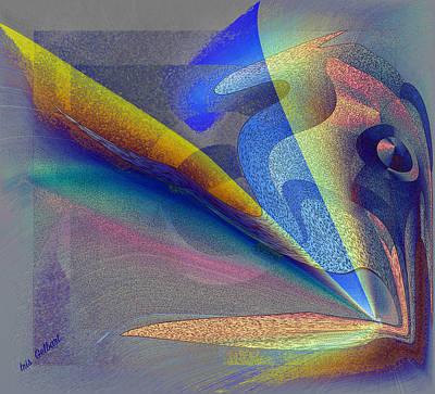 Digital Art - Sea World by Iris Gelbart